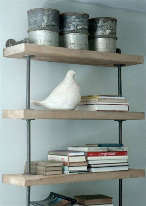 Cool Bathroom Shelves Cool Rustic Shelf Dwell Pinterest