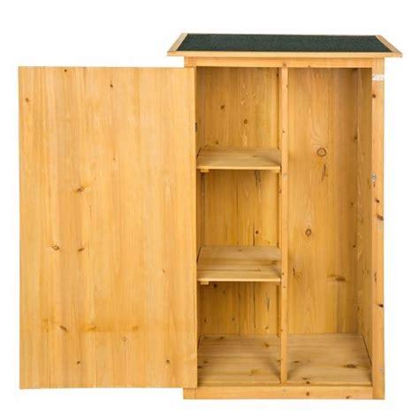 armadietti per balcone armadietto in legno da esterno porta attrezzi per giardino