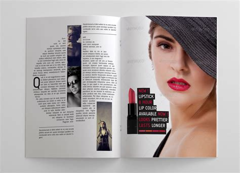 Pages Magazine Template s magazine template 24 pages graphicriver magazines