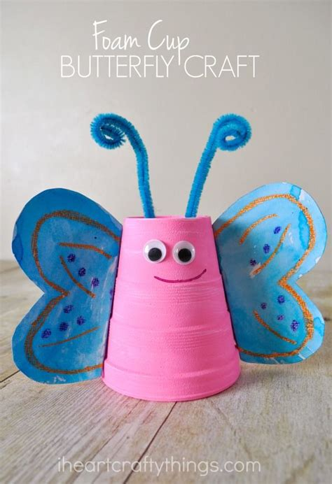Butterfly Construction Paper Craft - 25 best butterfly crafts ideas on