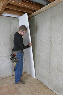 best way to insulate concrete basement walls how to insulate a basement wall greenbuildingadvisor