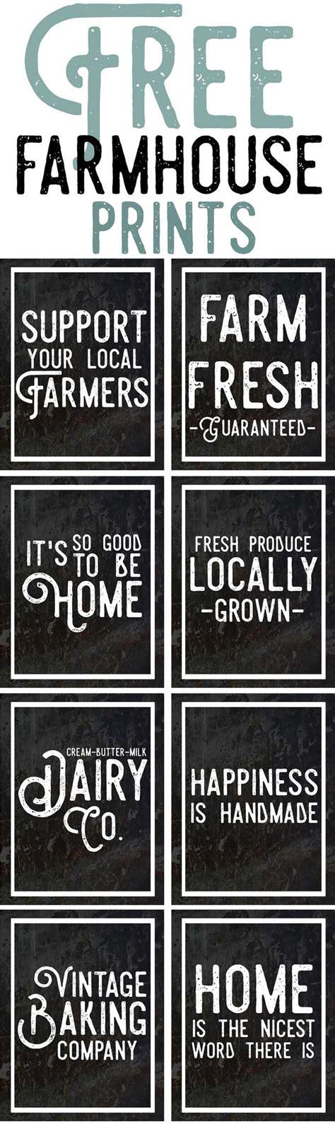farmhouse decor printables 5719 best best free printables fonts images on