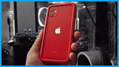 minimalist protection   product red iphone