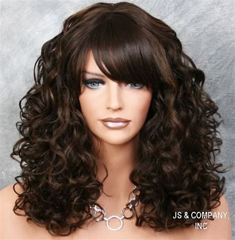 spiral hairstyles with bangs 25 best ideas about loose spiral perm on pinterest