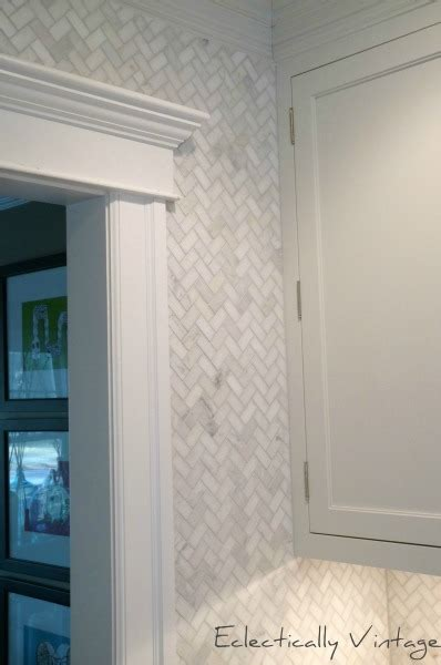 marble herringbone backsplash marble herringbone backsplash transitional kitchen
