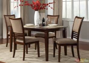 davenport amaretto finish casual dining room set home design living room casual dining room sets