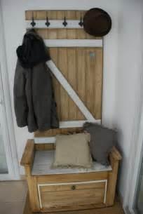meuble d entr 233 e fait avec du bois de palette meubles et