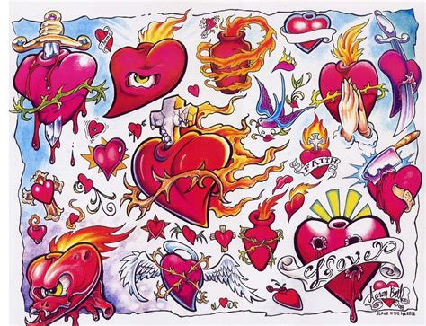 flash tattoo 80 000 flash sheets line color blackwhite