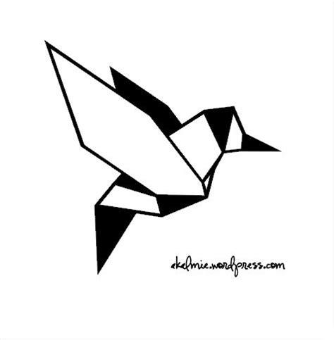 Dessin Oiseau Origami les 25 meilleures id 233 es de la cat 233 gorie tatouage origami