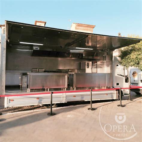 cucina mobile camion cucina opera events banqueting e d eccellenza