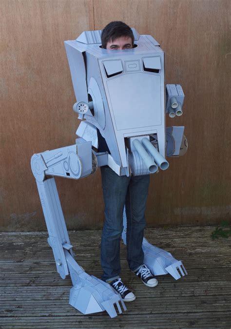 Papercraft Costumes - wars at st costume gadgetsin