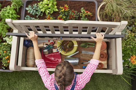 outdoor resin storage bench keter eden outdoor resin storage bench balzano