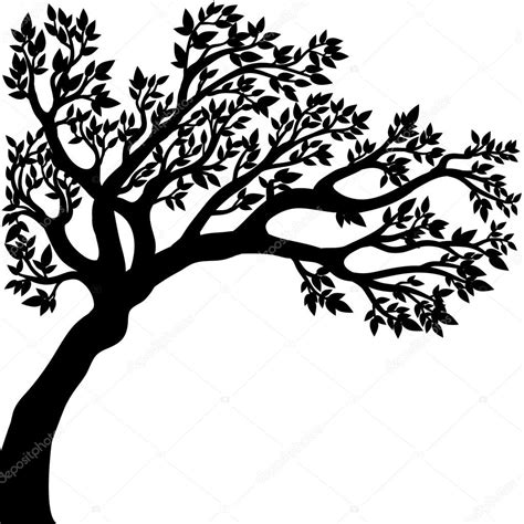 Drawing Vectors by Vector Drawing Of The Tree Stock Vector 169 Alinabel 58452927