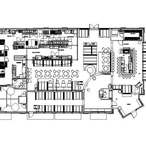 restaurant kitchen layout cad blocks besto blog