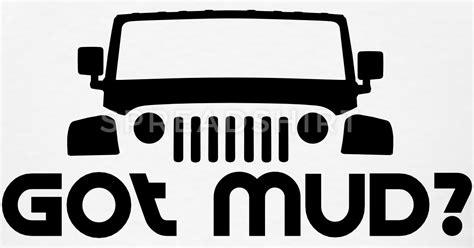 jeep mudding clipart got mud jeep jk t shirt spreadshirt