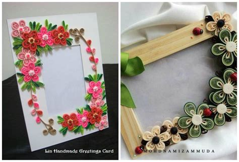Handmade Paper Photo Frames Designs - handmade paper photo frame ideas galleryimage co
