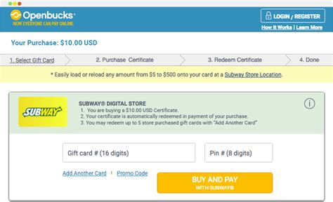 Check Amount On Subway Gift Card - flyff gold official site