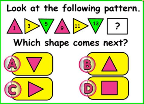 pattern games for the smartboard extending growing patterns smart notebook lesson