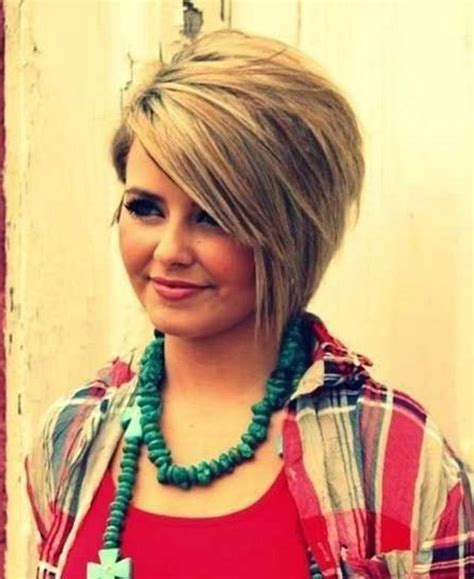 best hair cut for heavy set woman 20 collection of short haircuts for heavy set woman