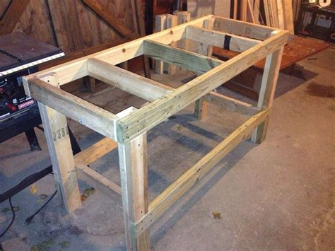 quick easy workbench workbench   wooden work