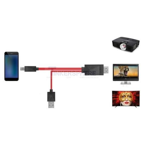 Mhl Micro Usb Pin 11 To Hdmi 14 99 11 pin mhl micro usb to hdmi adapter cable