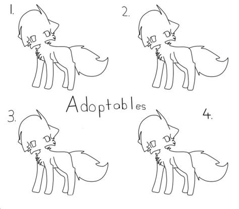 cat adoptables line art free to use cat adoptables lineart by beiipaws on deviantart