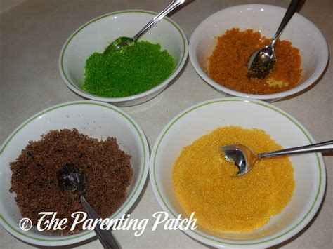 how to make colored sugar how to make colored decorating sugar parenting patch