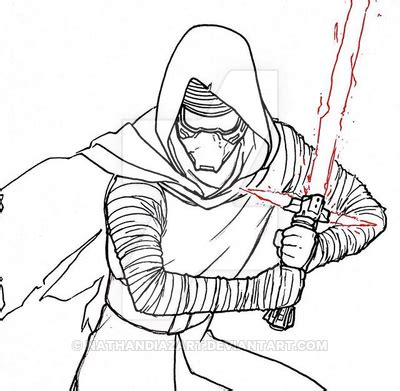 kylo ren coloring pages coloring pages