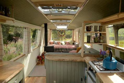 mobile home interior design uk 10 vintage buses transformed into stunning mobile homes