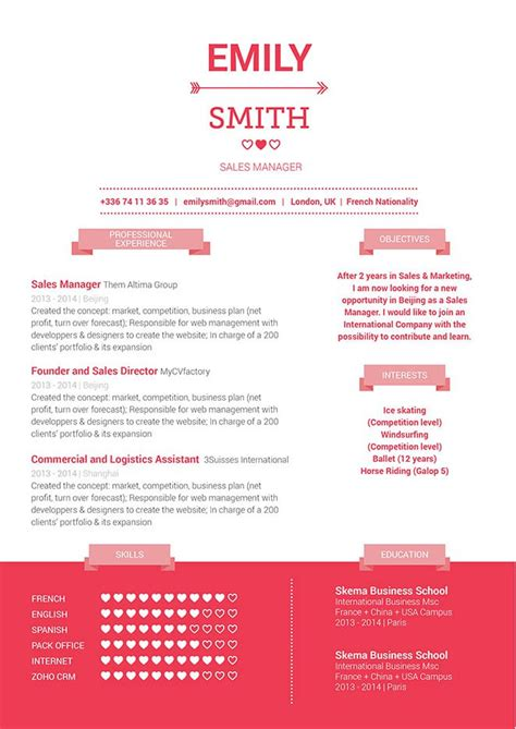 Great Formatted Resumes by Great Resume Resume 183 Mycvfactory