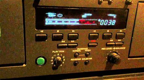 nad cassette deck nad cassette deck 616 walk through