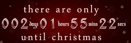 Countdown 2013 find out how many days until christmas 2013