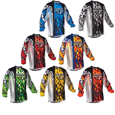 youth motocross jersey fly racing 2012 youth kinetic motocross jersey junior