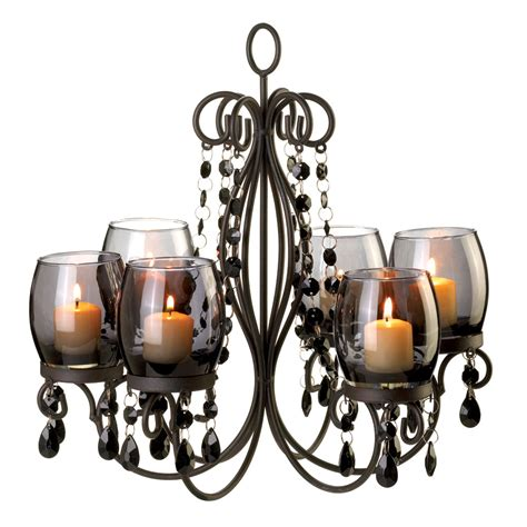 kronleuchter teelichter midnight elegance candle chandelier wholesale at koehler