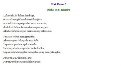 membuat puisi bintang puisi tema perjuangan wajib dibaca di hari kebangkitan