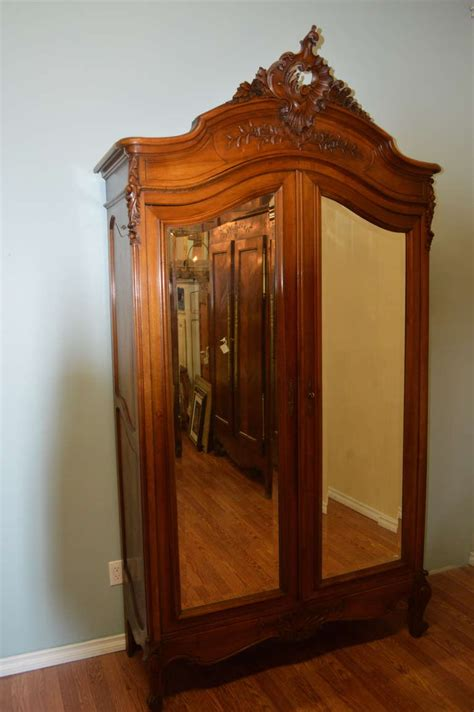Louis Xv Armoire by Louis Xv Style Two Door Walnut Armoire At 1stdibs