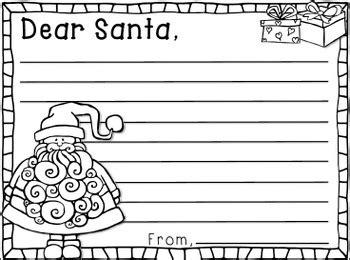 santa letter templates whimsy workshop teaching tpt
