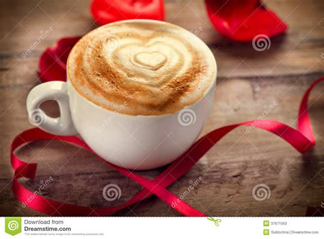 valentines day coffee s day coffee stock photos image 37671563