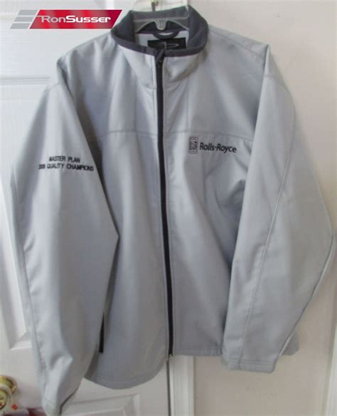 rolls royce zip jacket large by page tuttle nwt