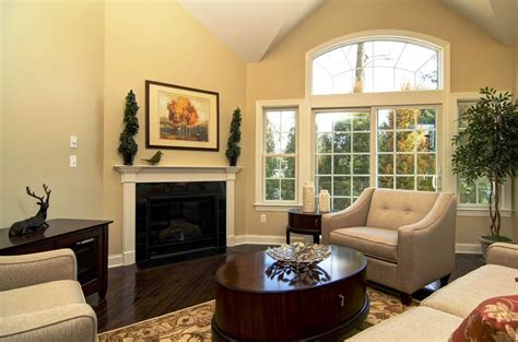 paint colors for living room walls with furniture