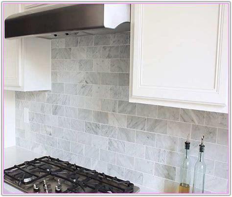 carrara marble subway tiles backsplash tiles home home depot marble subway tile tile design ideas