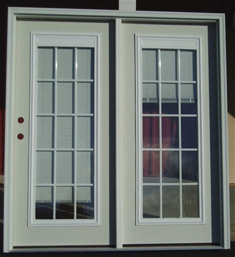 swinging patio door swinging patio door with blinds internal grills patio