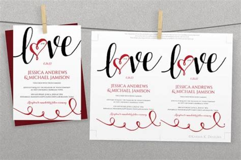 diy wedding invitation template instantly