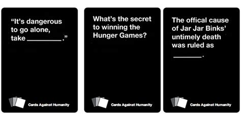 cards against humanity blank template cards against humanity goes geeky forevergeek
