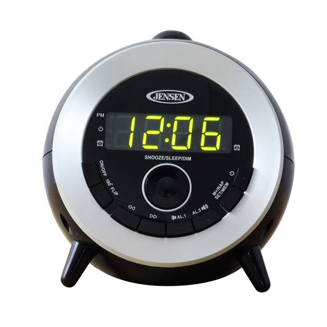 ceiling wall led projection projector dual alarm clock radio new ebay