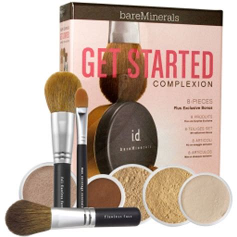 bareminerals get started complexion kit light bare escentuals get started complexion kit light 9
