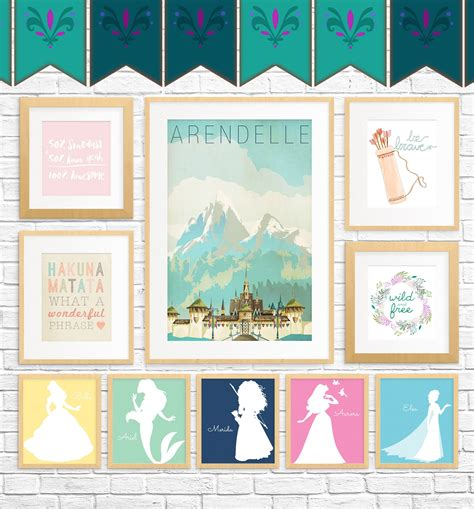 free printable princess wall art 20 free fairy tale printables for kids rooms kids rooms