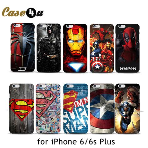 Marvel Casing Iphone 5 deadpool marvel comic phone for iphone 6 6s