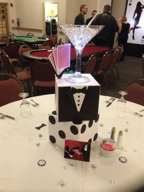 themed decoration ideas bond casino royale event centerpieces ideas