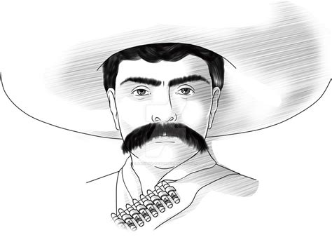 imagenes de emiliano zapata a lapiz emiliano zapata by adriana pasos on deviantart